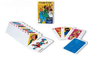 Tintin - Playing Cards