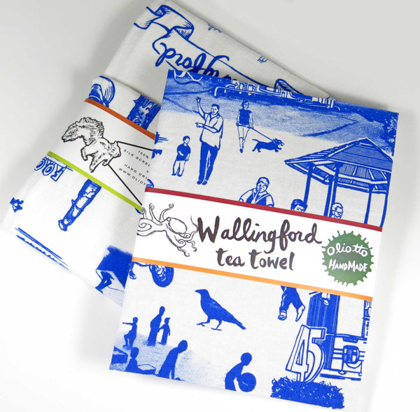 Wallingford Tea Towel