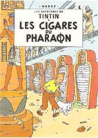 Tintin Poster - Cigars of the Pharaoh