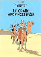 Tintin Poster - The Crab with the Golden Claws