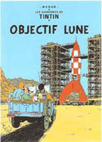 Tintin Poster - Destination Moon