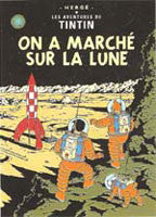 Tintin Poster - Explorers on the Moon