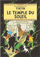 Tintin Poster - Prisoners of the Sun