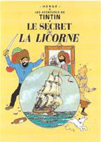 Tintin Poster - The Secret of the Unicorn