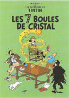 Tintin Poster - The Seven Crystal Balls