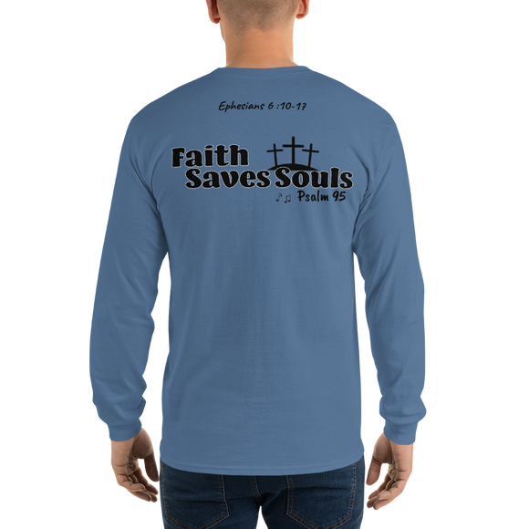 Long Sleeve T-Shirt ( The Praise and be Saved Mission )