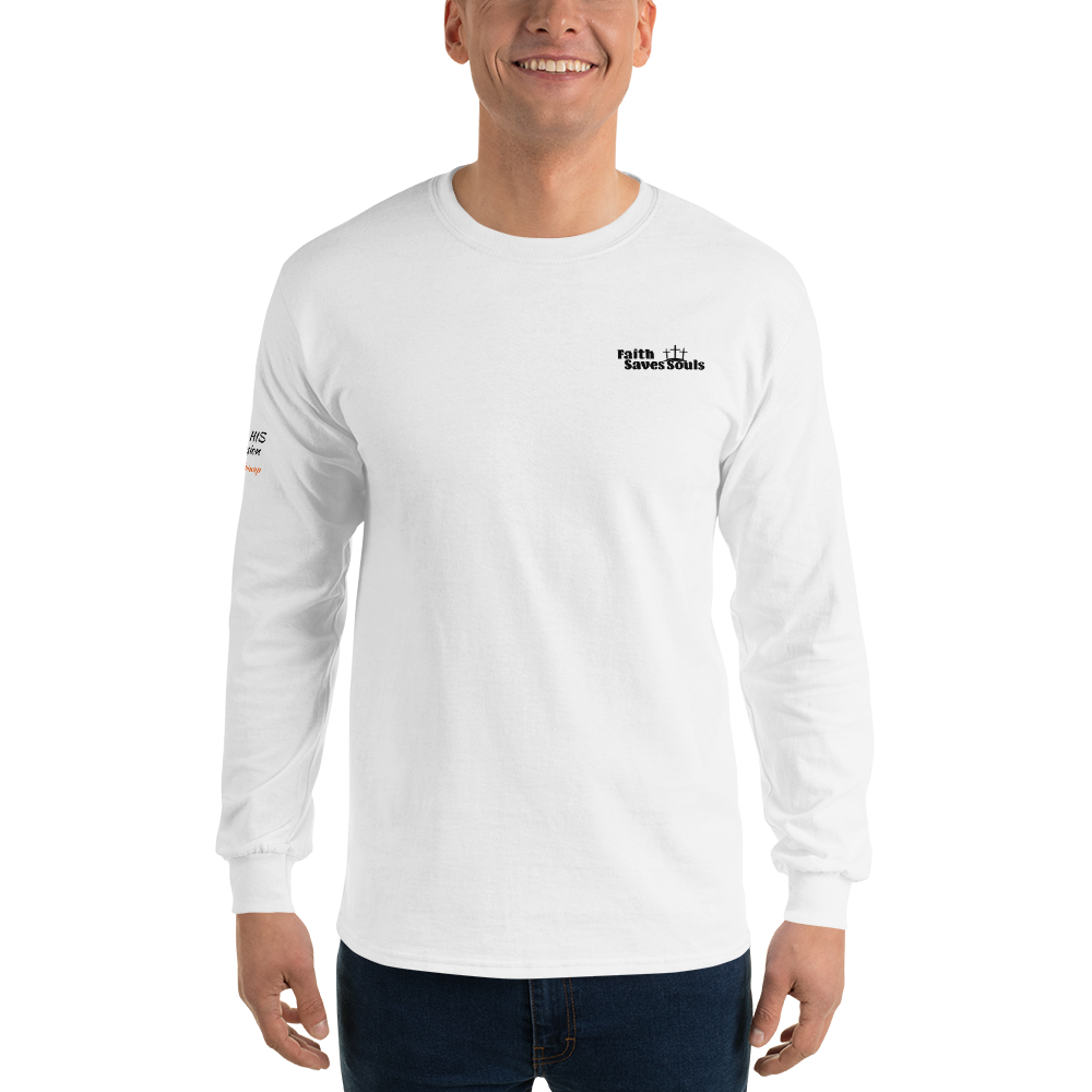 Long Sleeve T-Shirt ( The Helping Up Mission )
