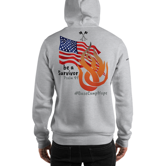Hooded Sweatshirt ( The Base Camp Hope Mission )