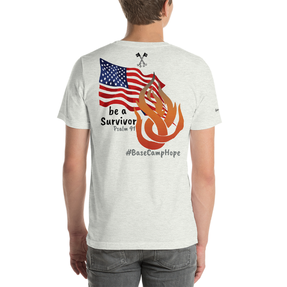 Short-Sleeve Unisex T-Shirt ( The Base Camp Hope Mission )