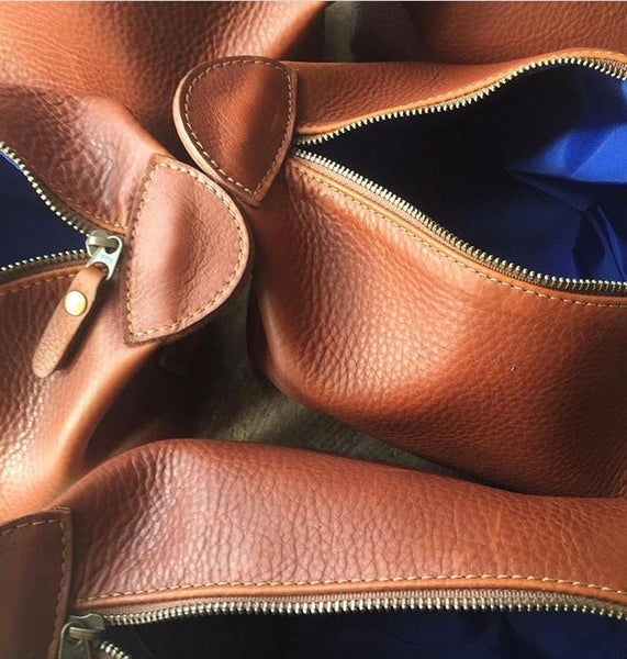 Top Grain Vs. Full Grain Leather Bags and Dopp Kits