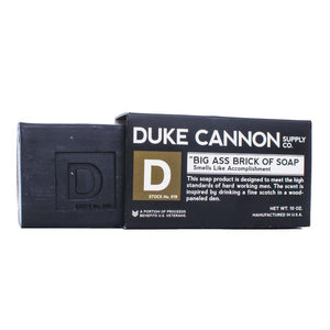 Duke Cannon Brick of Soap, Accomplishment