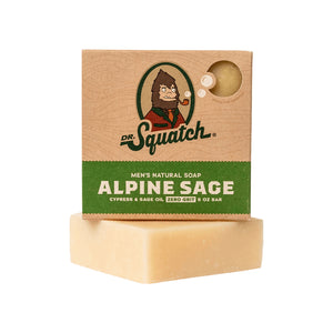 Dr. Squatch Bar Soap, Alpine Sage