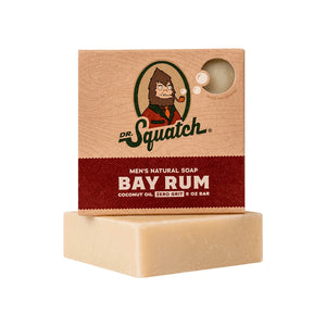 Dr. Squatch Bar Soap, Bay Rum