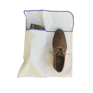 Canvas Shoe Bag, Natural