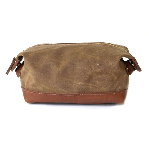 De Gaulle Dopp Kit Tan