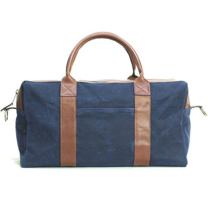 Waxed Worton Weekender, Navy