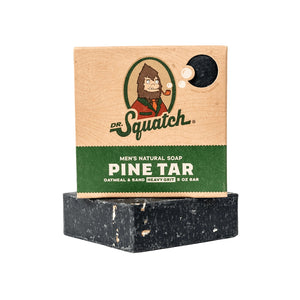 Dr. Squatch Bar Soap, Pine Tar