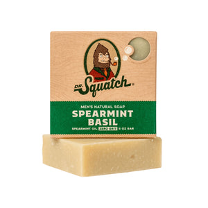 Dr. Squatch Bar Soap, Spearmint Basil Scrub