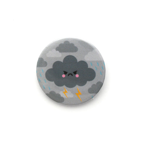 Angry Thunder Cloud Badge