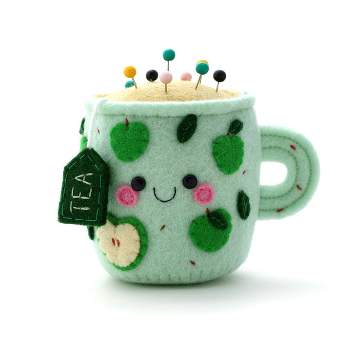Apple Teacup Pincushion