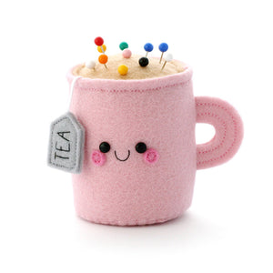 Blush Pink Teacup Pincushion