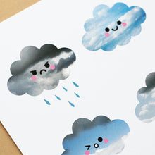 Cloud Collection, A5 Print