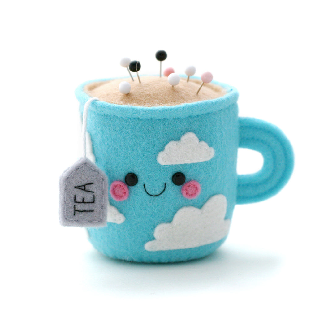 Cloudy Teacup Pincushion - Special Edition