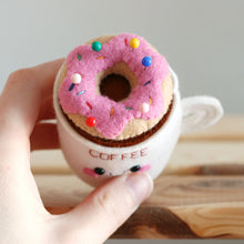 Coffee and a Donut Pincushion - Special Edition