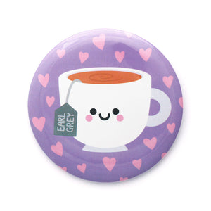Earl Grey Tea Pocket Mirror