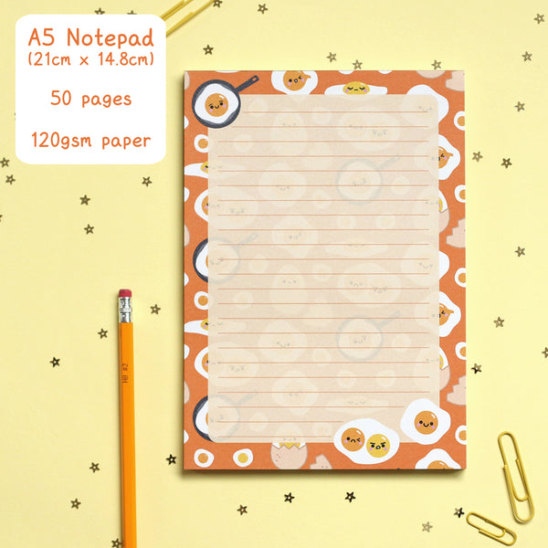 Egg Notepad by hannahdoodle