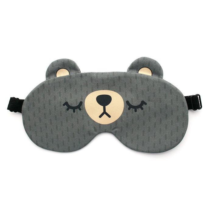 Grey Bear Sleep Mask