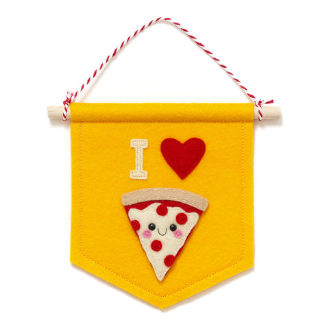 I Love Pizza Banner - Customisable