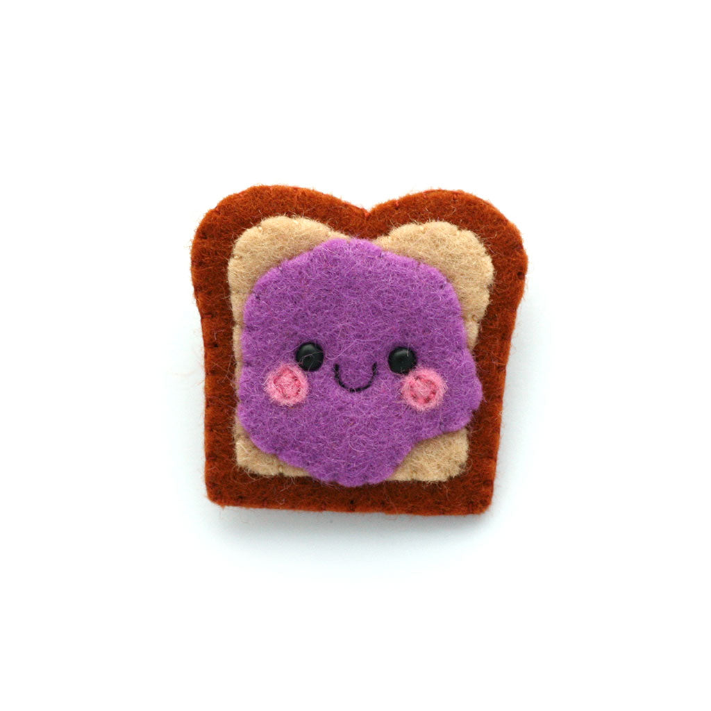 Jelly Sandwich Brooch