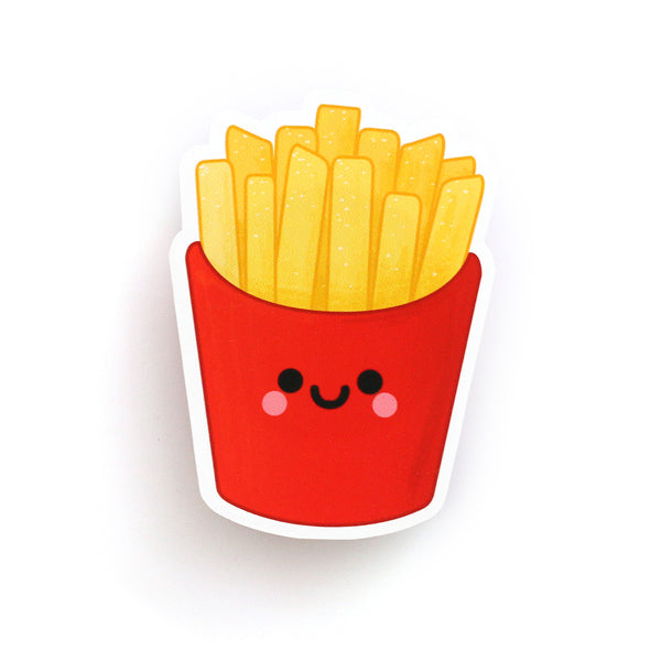 french fries sticker