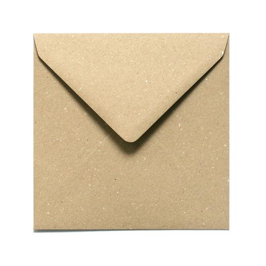 Brown Square Kraft Envelope
