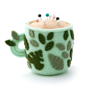 Leafy Teacup Pincushion - Special Edition
