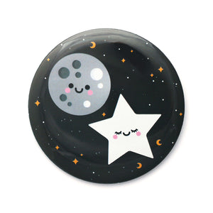 Moon and Star Pocket Mirror