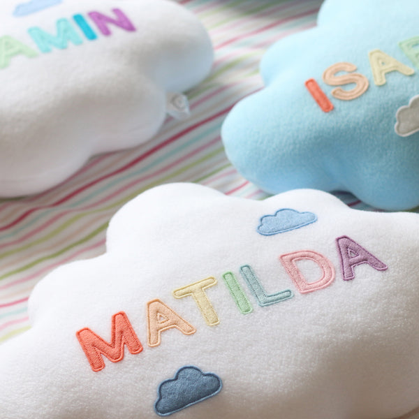 Name Cloud Pillows