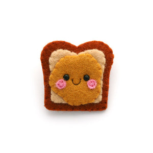 Peanut Butter Sandwich Brooch