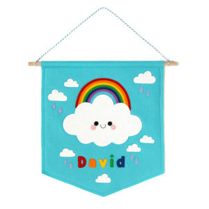 Rainbow Cloud name banner