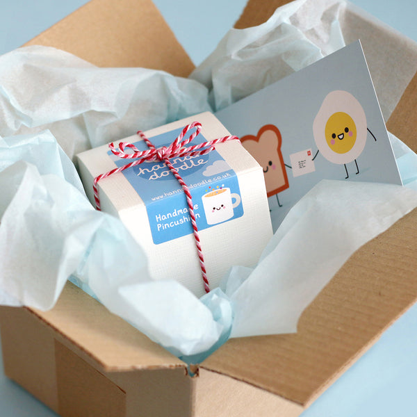 hannahdoodle Pincushion Packaging