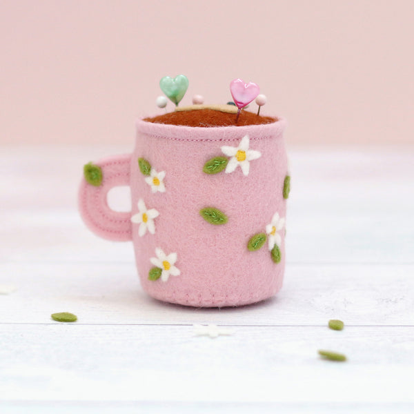 Kawaii Coffee Pincushion