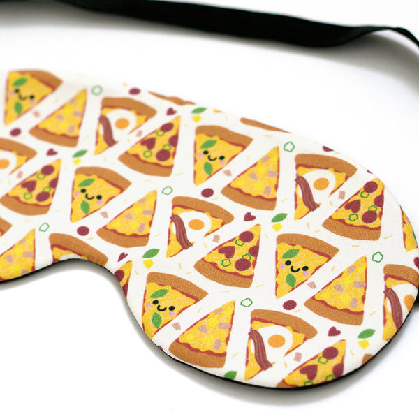 Close up of Pizza Sleep Mask