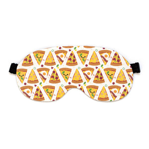 Pizza Sleep Mask by hannahdoodle