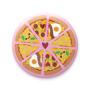 Cute Pizza Pocket Mirror