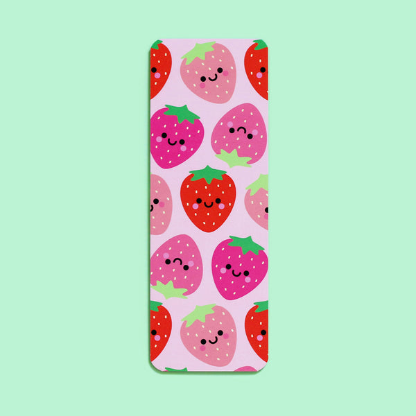 Kawaii Strawberry Bookmark