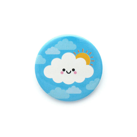 Sunny Day Cloud Badge