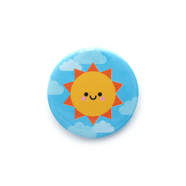 Sunshine Button Badge