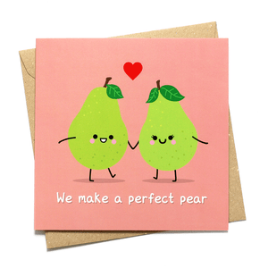 we make a perfect pair love card hannahdoodle