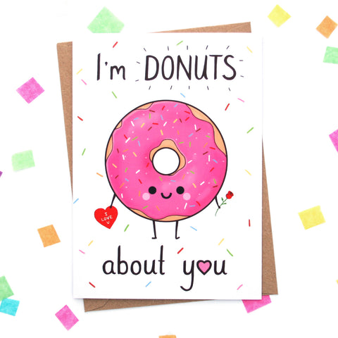 Donuts About You Card